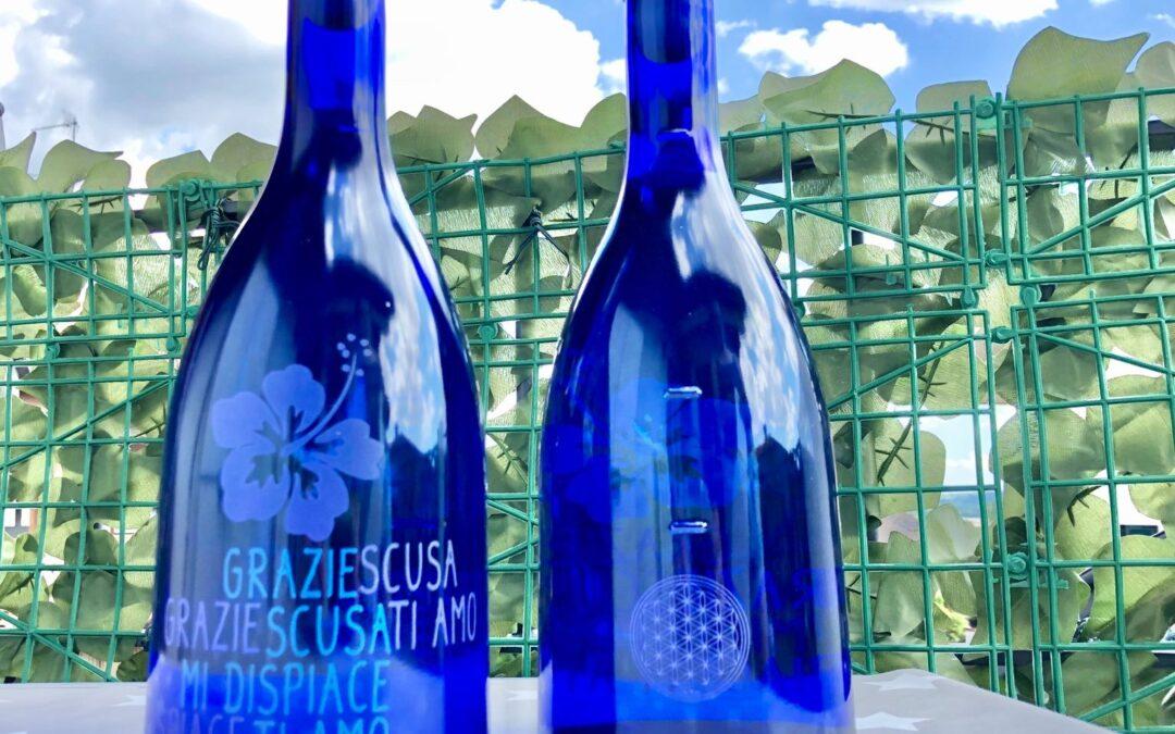 La magia dell'acqua: uso dell'acqua blu solarizzata